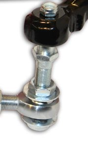 Adjustable Bump-Steer Spindle Adapter for GM Spindles Installed