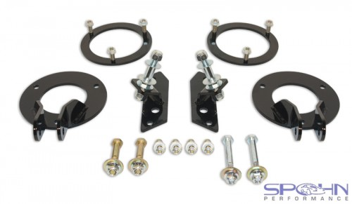Dodge Ram 4x4 Dual Front Shock Mounting Kit