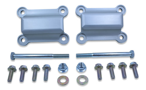 Lightweight Billet Aluminum LSx Solid Motor Mounts | 1998-2002 GM F-Body Style