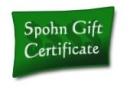 Spohn Gift Certificate