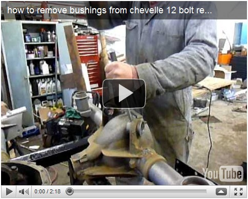 Video Series: How To Remove Rear Upper Control Arm Housing Bushings