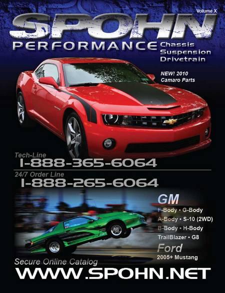 Spohn 2010 Catalog