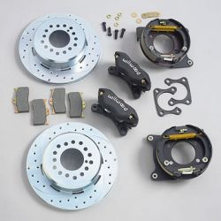 Wilwood 140-7139 Dynalite Pro Series Rear Disc Brake Kit w/ Park Brake