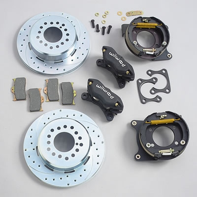 Wilwood 140 7139 Dynalite Pro Series Rear Disc Brake Kit W
