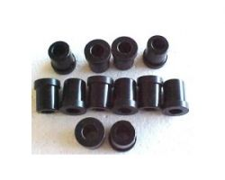 Prothane 7-1016 Polyurethane Rear Spring Eye and Shackle Bushings