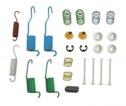 H7104 Rear Drum Brakes Hardware Kit