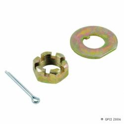 05193 Front Spindle Castle Nut / Washer / Cotter Pin Kit
