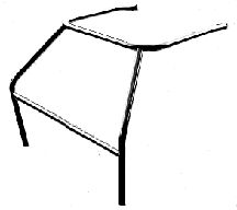 S&W 12-1017 8 to 10 Pt Roll Cage Conversion Mild Steel | 1982-93 S-10