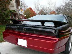 Fourth Gen Style Fiberglass Rear Spoiler | 1982-1992 Pontiac Firebird