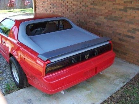 Fiberglass Rear Notchback Hatch 1982 1992 F Body Camaro