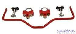 Chevelle A-Body Adjustable Pro Touring Rear Sway Bar | 918