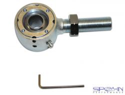 """Del-Sphere Pivot Joint 3/4""""-16 Left Hand Threads   Roto-Joints"""