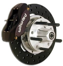 Wilwood 140-1035B Front Drag Disc Brake Kit | 1982-1992 F-Body Camaro