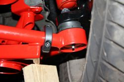 "Clamp On Steering Stops for Tubular Front A-Arms with 1.25"" Tubing"