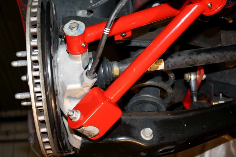2010-2015 Camaro Rear Trailing Control Arms | Rod Ended ...