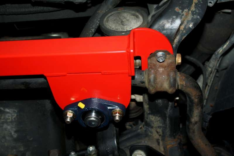 steering box stabilizer brace