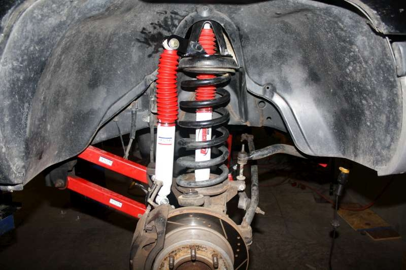 Dual Front Shock Mounting Kit Stock Height 1994 1999