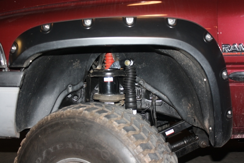 Dual Front Shock Mounting Kit Lift Kit Dodge Ram X on 1994 Dodge Dually 4x4