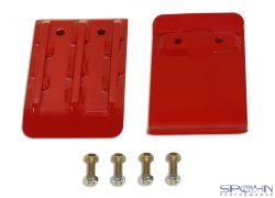 Front Lower Control Arm Skid Pad Plates | 1994-2013 Dodge Ram 4x4