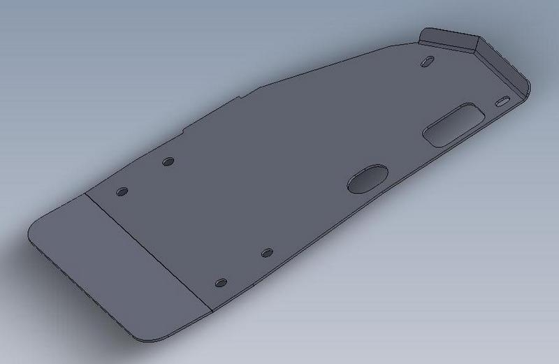 Extreme Duty Transfer Case Skid Plate | 1994-2002 Dodge ...