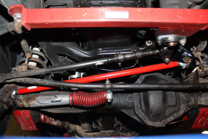 Adjustable Front Track Bar Dodge Ram X With Lift on Dodge Ram 3500 Front End Parts