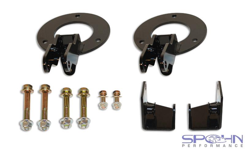 Dual Front Shock Mounting Kit Lift Kit 2003 2013 Dodge