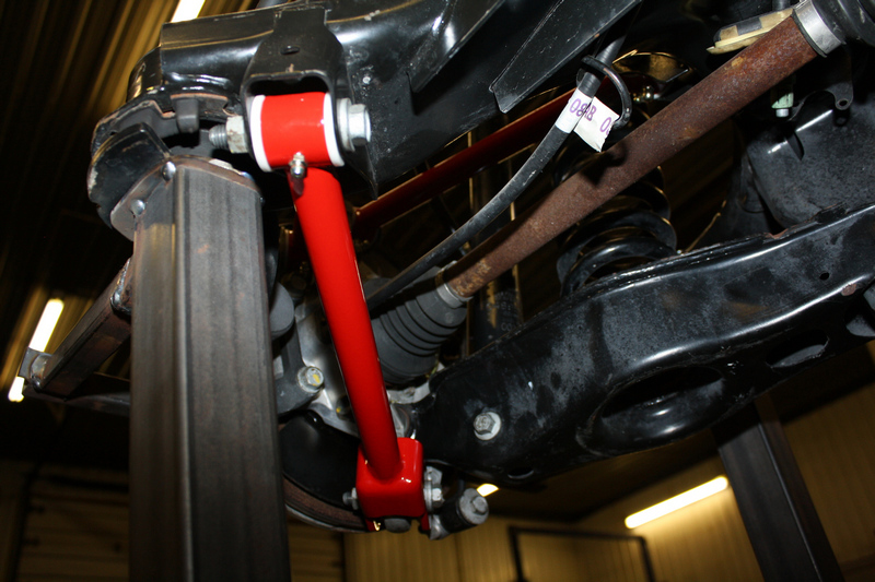 Tubular Rear Trailing Arms Track Bars Charger