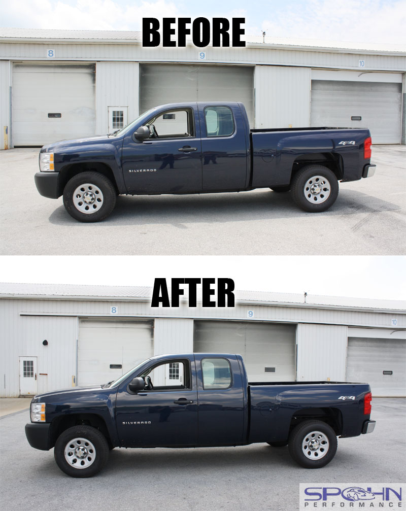 2013 Chevrolet Silverado With A Leveling Lift Kit | Autos Weblog