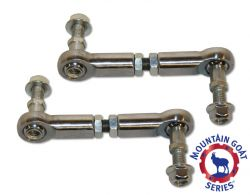 "Adjustable Front Sway Bar End Links | Jeep JK Wrangler with 0""-2"" Lift"