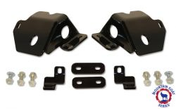 Front Lower Control Arm Mount Skid Plates | Jeep JK Wrangler