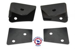 Lower Front A-Pillar Auxiliary Light Mounts | Jeep JK Wrangler