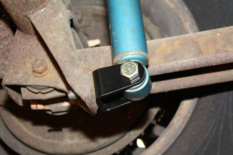 Lower Rear Shock Relocation Mounting Brackets 1982 2002