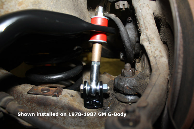 Spherical Front Sway Bar End Links 1964 1972 A Body 1993